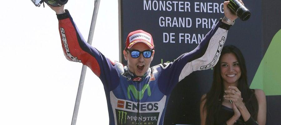 Jorge Lorenzo vence el Le Mans