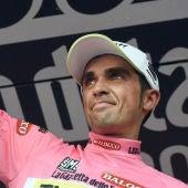 Alberto Contador mantiene el liderato en le Giro