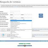 """Página web con la referencia a la Guardia Civil como """"grupo terrorista"""""""