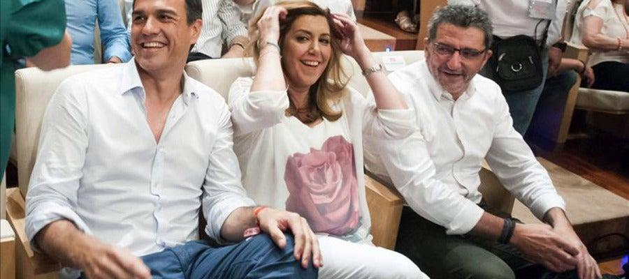 Susana Díaz y Pedro Sánchez