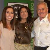 Ana Belén, Victor Manuel e Isabel Gemio