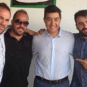Manguara con Juan Valderrama en Más de Uno