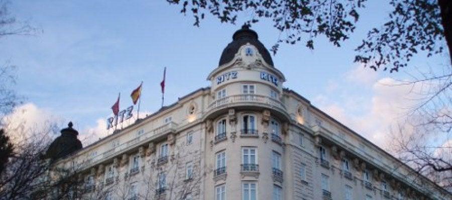 Fachada del Hotel Ritz en Madrid