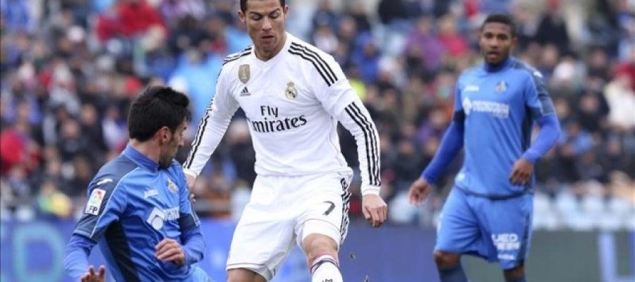 Cristiano Ronaldo ante el Getafe