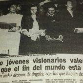Recorte de periódico: 'Los ángeles de Paiporta'
