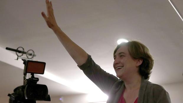 """Ada Colau: """"Hemos demostrado que sí se podía hacer un cambio en Barcelona"""""""