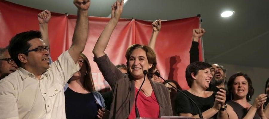 La líder de Barcelona en Comú, Ada Colau
