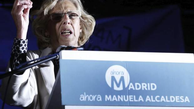 """Manuela Carmena: """" La única moneda de la campaña de Ahora Madrid ha sido la imaginación, alegría y creatividad"""""""