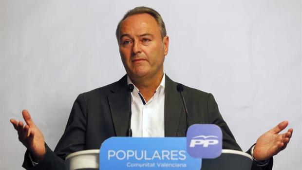 """Alberto Fabra: """"A partir de ahora tenemos que trabajar para recuperara la confianza"""""""