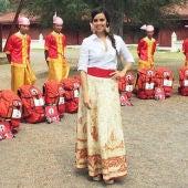 Cristina Pedroche en Pekín Express