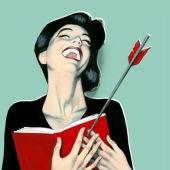 Cartel de la Feria del libro de Madrid 2015