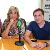 Goyo Benítez, Julia Otero y Paco Vera