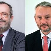 Javier Gonzále Ferrari y Ramón Osorio