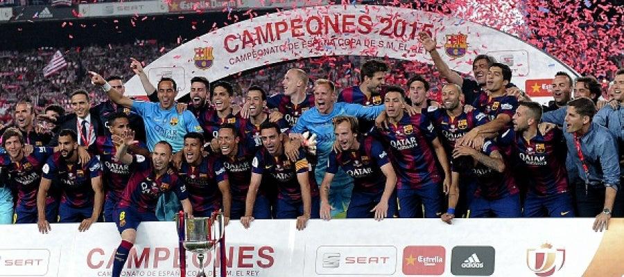 El FC Barcelona gana la Copa del Rey 2015