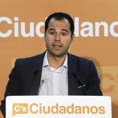 El líder de Ciudadanos en Madrid, Ignacio Aguado