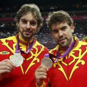Pau y Marc Gasol en una foto de archivo