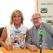 Julia Otero con Ibáñez
