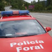 Coche de la Policía Foral de Navarra
