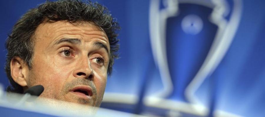 Luis Enrique, entrenador del F.C. Barcelona