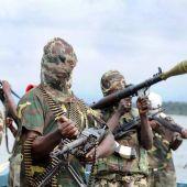 Rebeldes de la Organización Terrorista Boko Haram