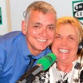 María Luisa Merlo con Juan Ramón Lucas