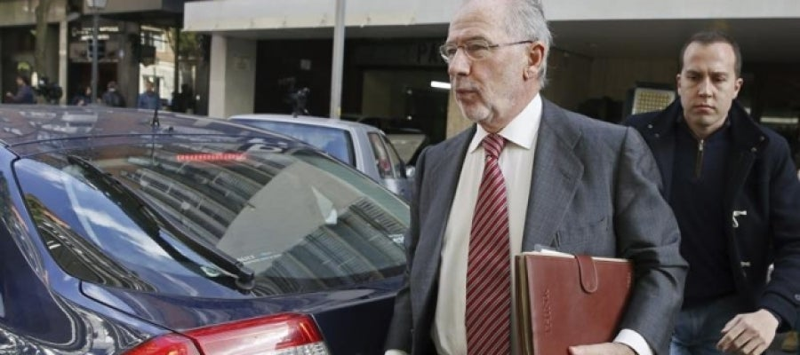 Rodrigo Rato regresa a su domicilio de Madrid