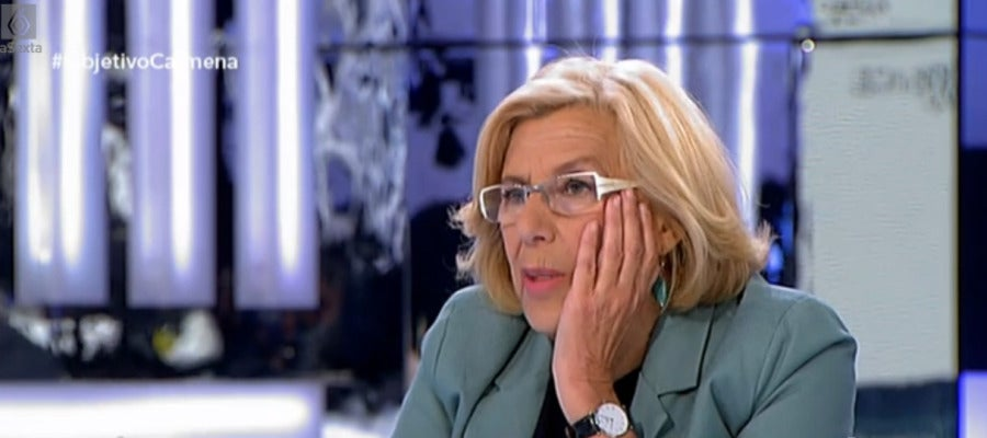 Manuela Carmena en El Objetivo de laSexta