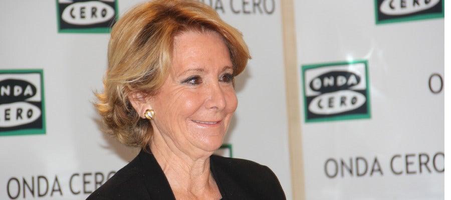 Esperanza Aguirre en Más de uno
