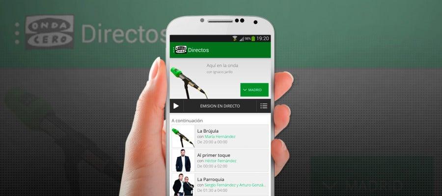 Nueva app de Onda Cero