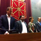 Mesa del Parlamento de Navarra