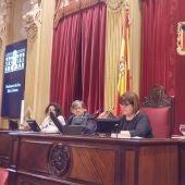 Chelo Huertas, presidenta del Parlament