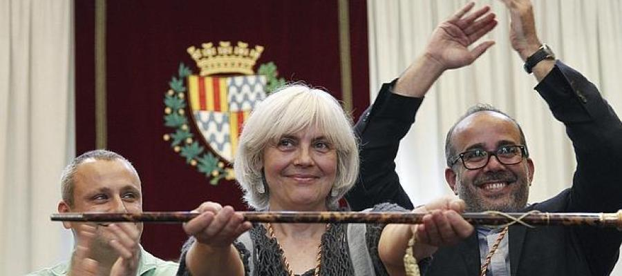 Dolors Sabaté, alcaldesa de Badalona
