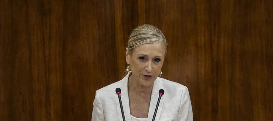 Cristina Cifuentes, investida presidenta de la Comunidad de Madrid