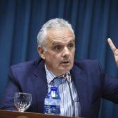 José Luis Escañuela, presidente de la Federación Española de Tenis