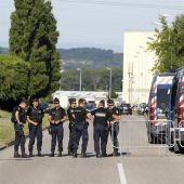 La policía científica investiga el atentado de Francia