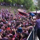 La batalla del Vino en Haro, La Rioja