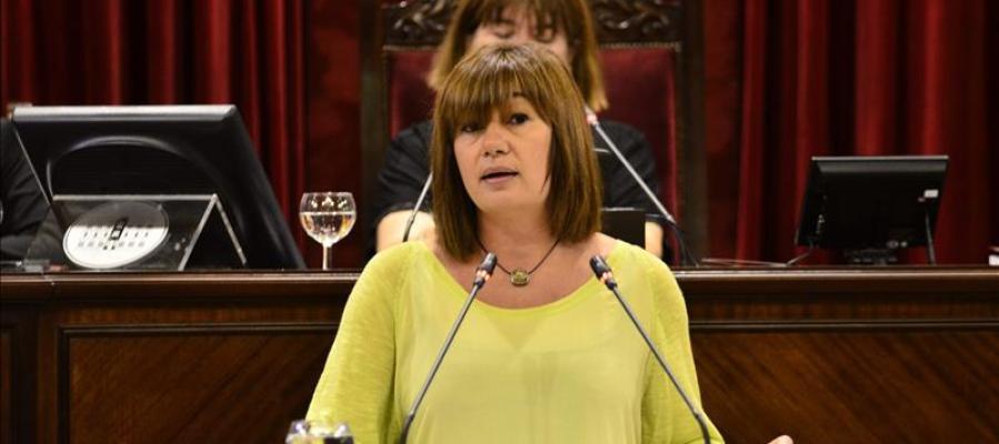 Presidenta del Govern balear, Francina Armengol