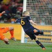 Gol de Iniesta en el Mundial de Sudáfrica