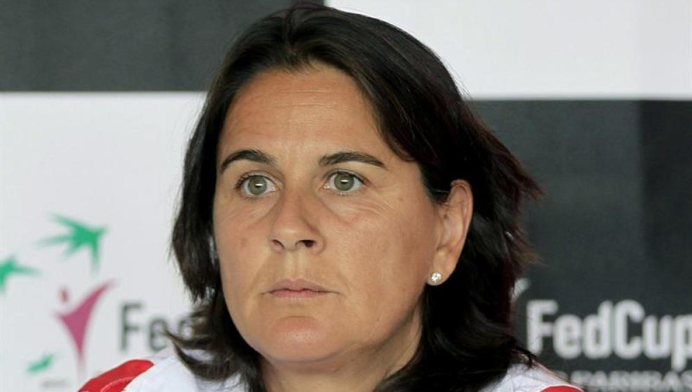 Conchita Martínez, nueva capitana del equipo español de Copa Davis