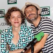 Nuria González y Carlos Chamarro