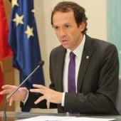 Marc Pons, portavoz del Govern balear