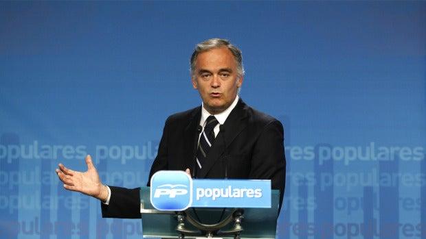 """Esteban González Pons: """"En Bruselas, lo de Cataluña se ve como otro Brexit"""""""