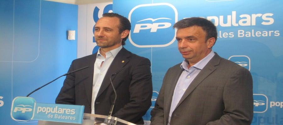 Miquel Vidal y José Ramón Bauzá