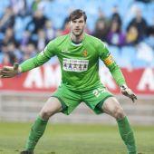 Leo Franco, durante un partido con el Zaragoza