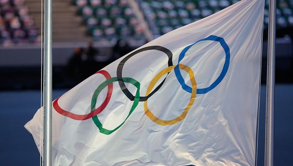 La bandera olímpica
