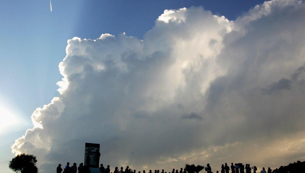 Cielos nubosos en la Península