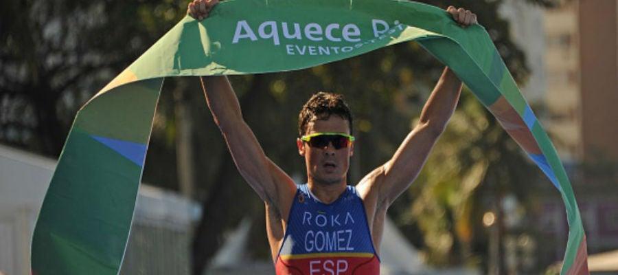 Javier Gómez Noya, obtiene la plaza olímpica