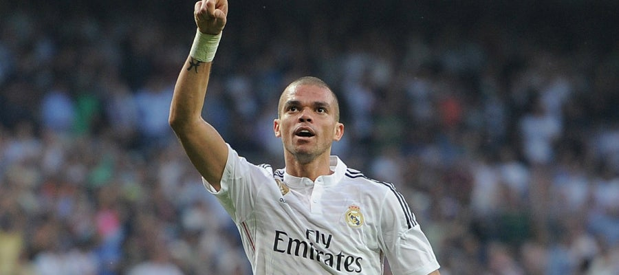 Pepe central del Real Madrid