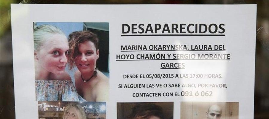 Un cartel anuncia la desaparición en Cuenca de dos amigas mayores de edad