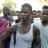 Protestas en Salou por la muerte de un senegalés